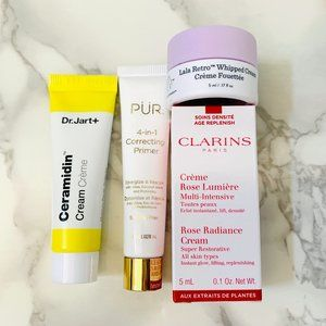 NEW Sincare Set Dr Jart, Pur, Clarins, Drunk Eleph